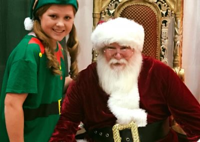 Bring the kiddos to see Santa and his helper at the 2018 Home for the Holiday's Show